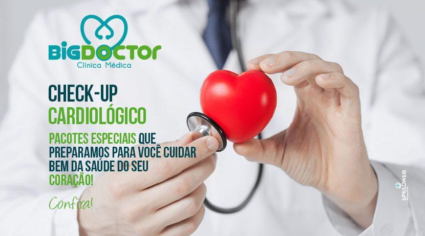 Pacote promocional Check-up Cardiológico