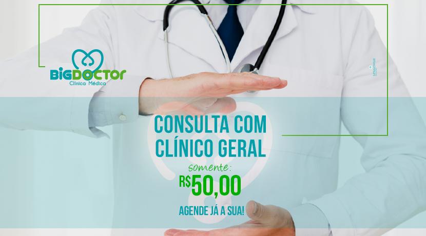 Consulta com clínico geral
