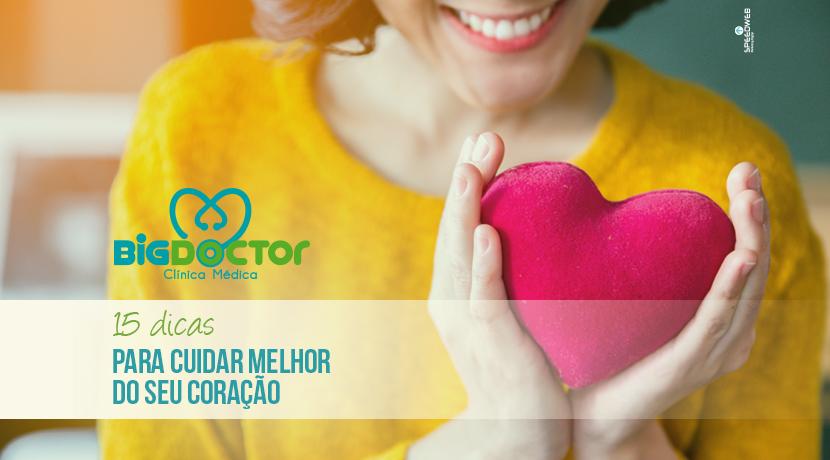 15 Dicas para cuidar melhor do seu coração