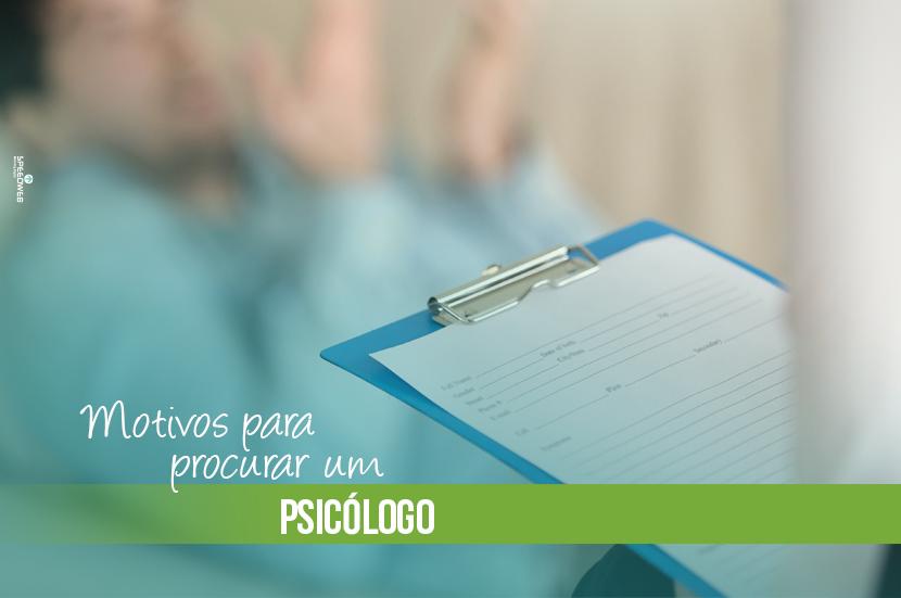 Motivos para procurar um psicólogo