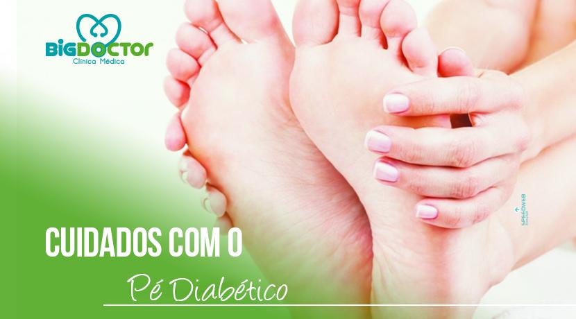 Cuidados com o pé diabético