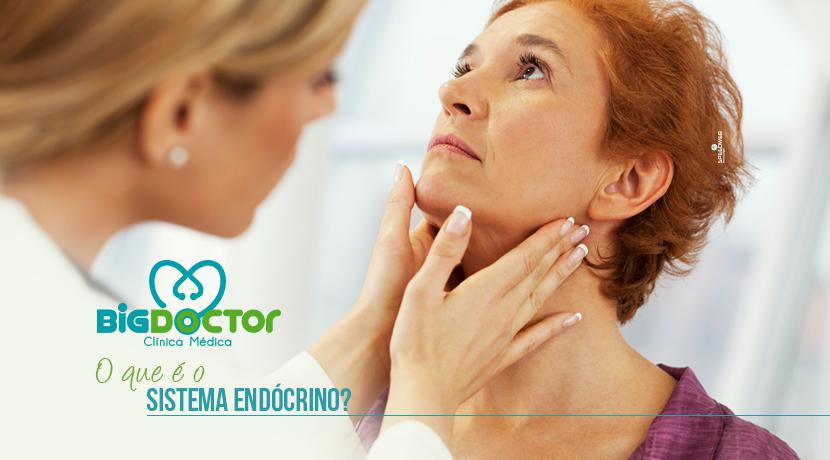 O que é o sistema endócrino?