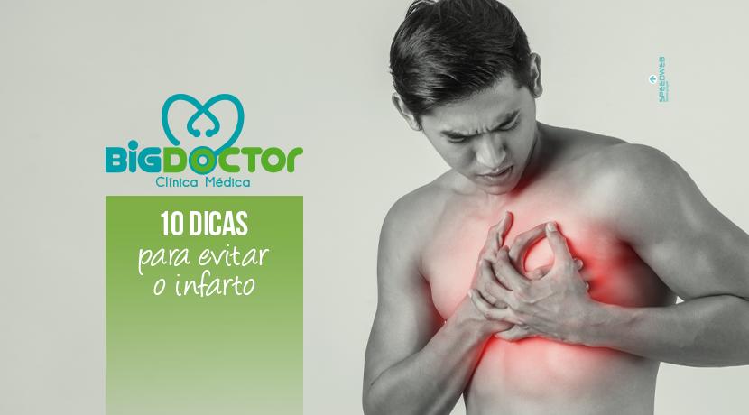10 Dicas para evitar o infarto