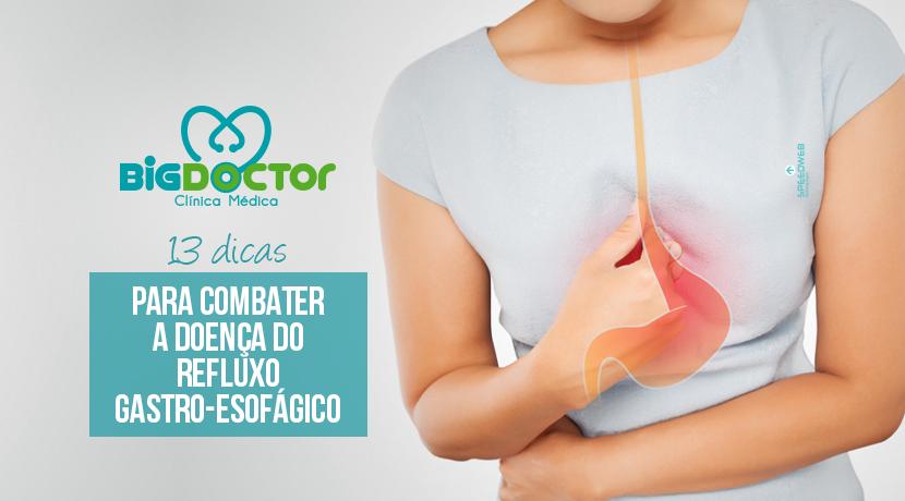 13 Dicas para combater a doença do refluxo gastro-esofágico