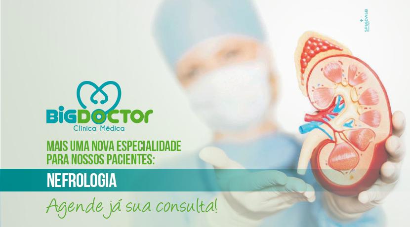 Mais uma nova especialidade para nossos pacientes: Nefrologia