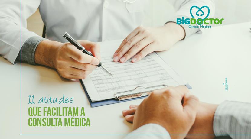 11 Atitudes que facilitam a consulta médica