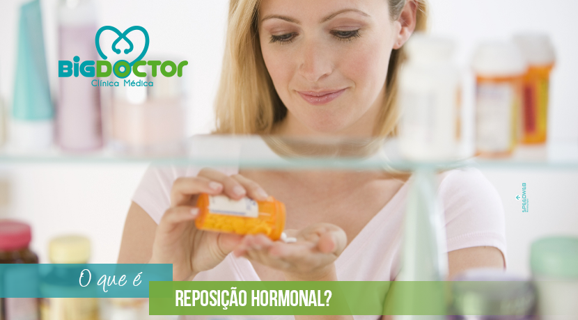 O que é reposição hormonal?