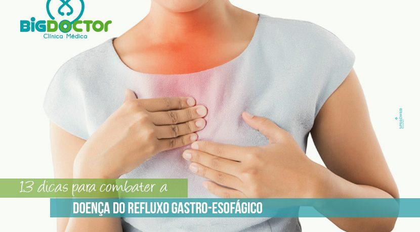 13 dicas para combater a doença de refluxo gastro-esofágico