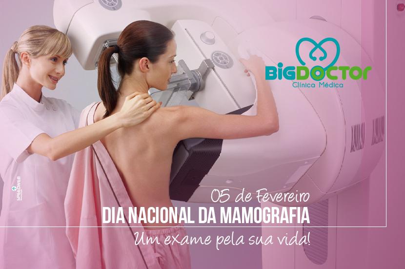 5 de fevereiro – Dia Nacional da Mamografia
