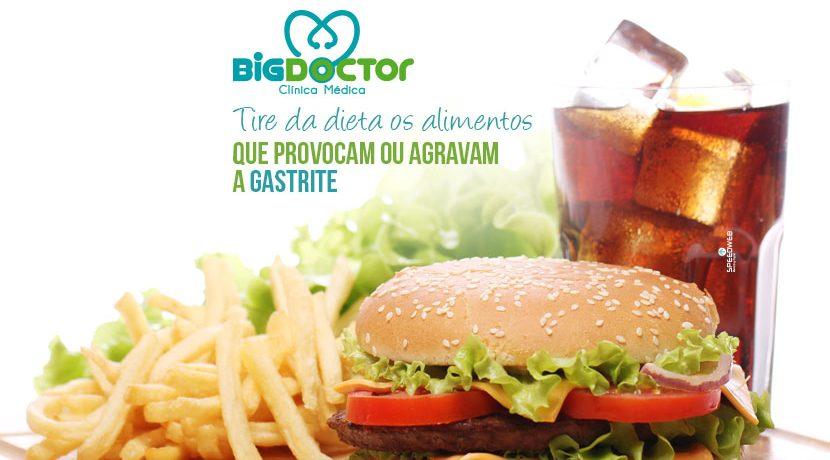 Tira da dieta os alimentos que provocam ou agravam a gastrite