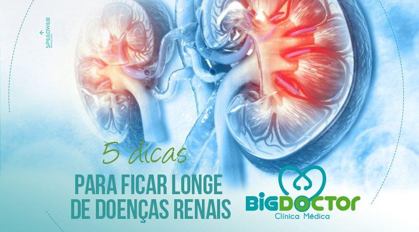 5 dicas para ficar longe das doenças renais
