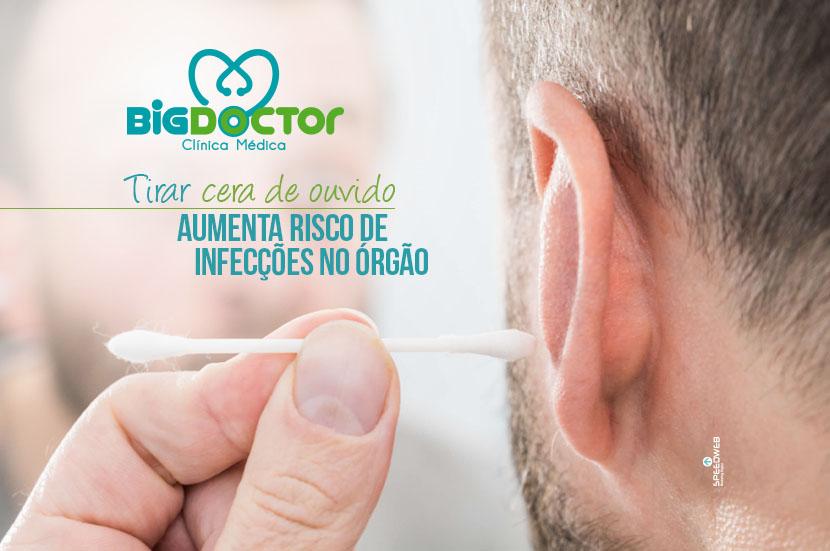 Tirar cera de ouvido aumenta risco de infecções no órgão