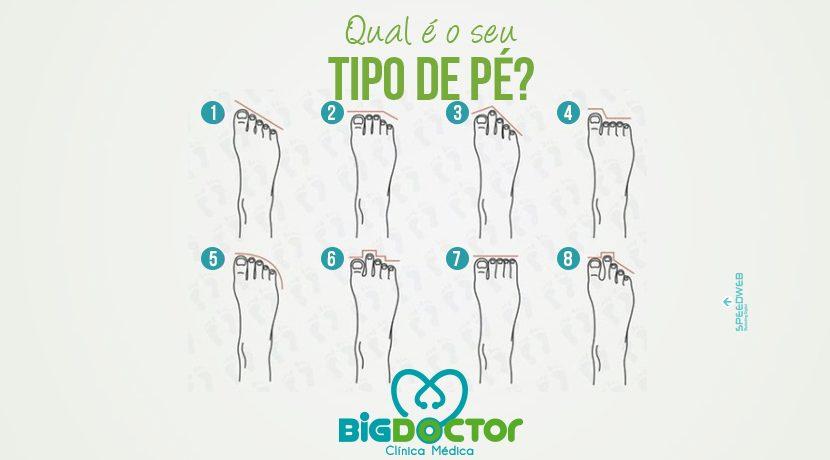 Qual o seu tipo de pé?
