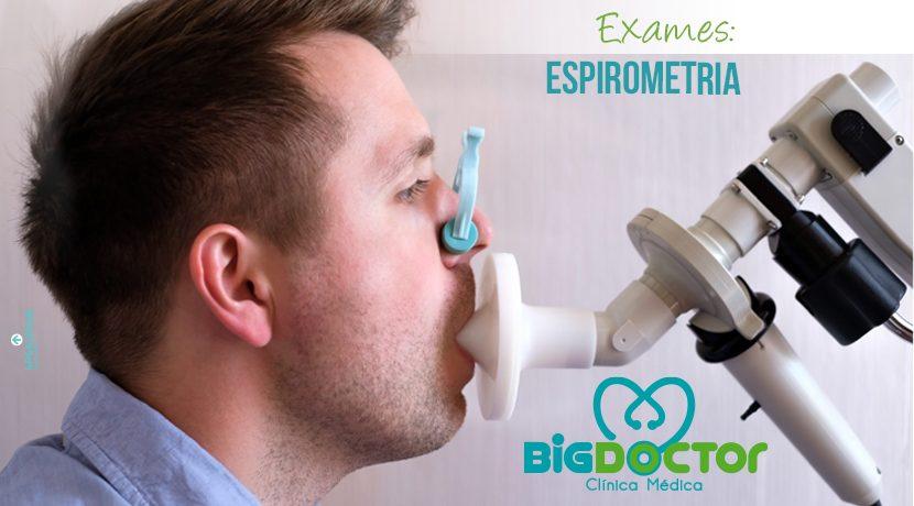 Exames: Espirometria
