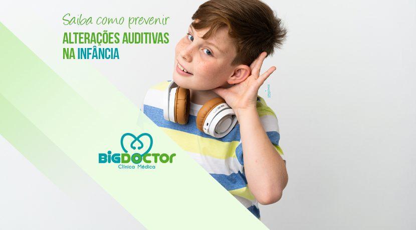 Saiba como prevenir alterações auditivas na infância